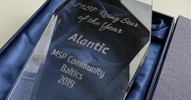 Awarded for the largest growth in the Baltic states